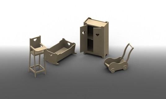 Plans de fabrication d'objet en bois
