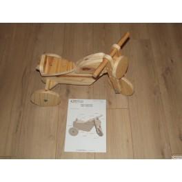 tutoriel pour fabriquer soi-même se porteur moto en bois pour enfant