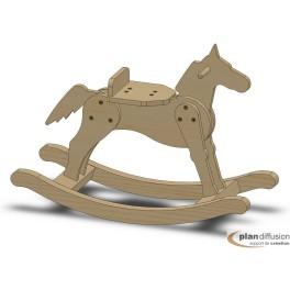 comment fabriquer un cheval de bois bascule. Black Bedroom Furniture Sets. Home Design Ideas