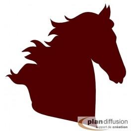 dxf tête de cheval